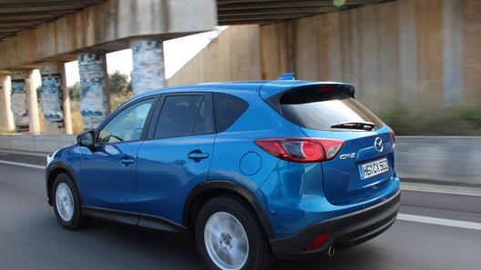 Mazda CX-5 получила новый мотор 2,5 литра