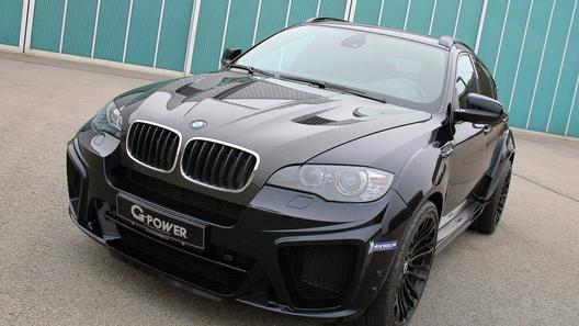 BMW X6 M Typhoon от ателье G-Power получил новую внешность
