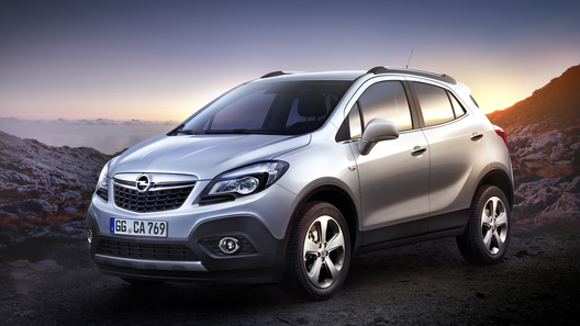 Opel раскрыл изображения нового кроссовера Mokka