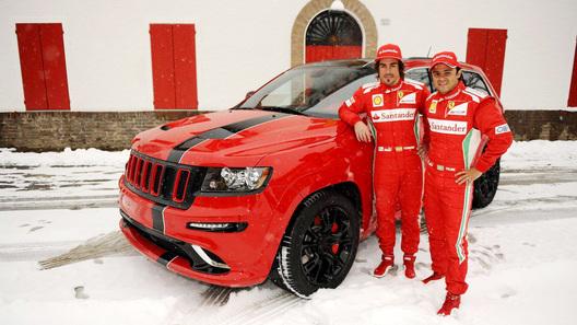 Jeep Grand Cherokee переделали для Фернандо Алонсо и Фелипе Массы