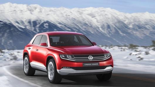 Концепт Volkswagen Cross Coupe модернизировали для Женевы