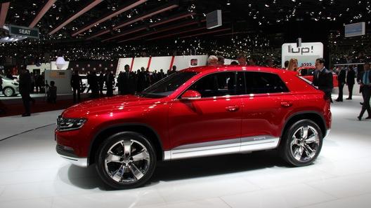 Volkswagen рассказал о дизель-электрическом Cross Coupe