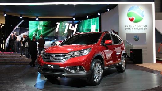 Новое поколение Honda CR-V дебютировало в Женеве