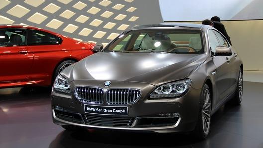 BMW показала в Женеве 4 премьеры, включая Gran Coupe 6 серии