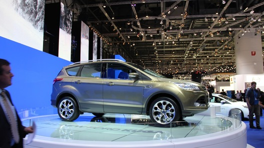 Ford привез в Женеву новую Kuga и другие новинки