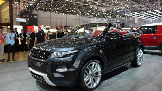 Range Rover Evoque все же сбросит крышу