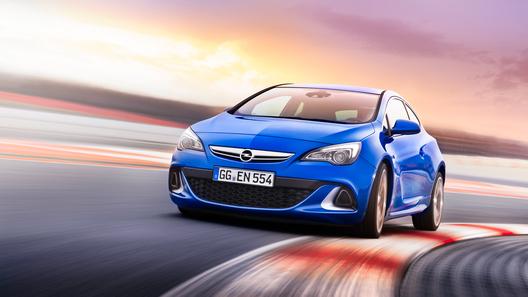 Opel Astra OPC будет стоить в России от 1 150 000 рублей