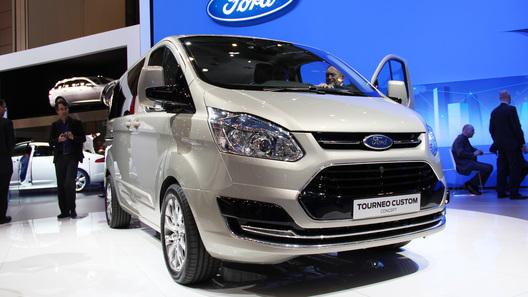 Концептуальный фургон Ford Torneo Custom пойдет в серию