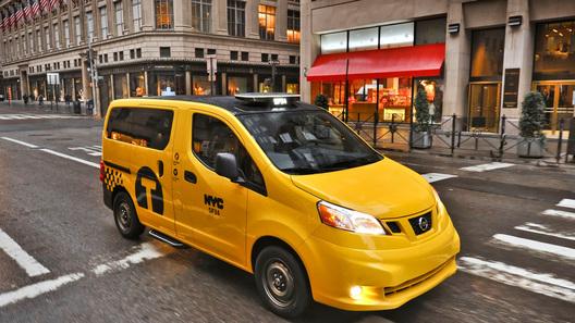 Новое нью-йоркское такси от Nissan представят на автосалоне