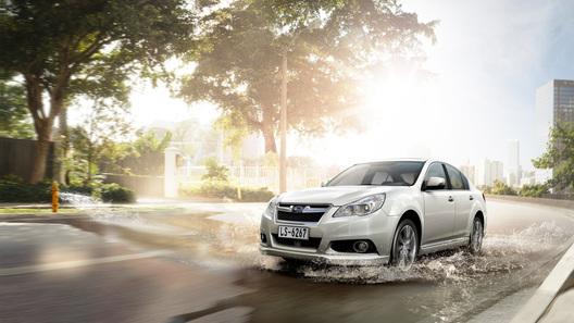 Представлена китайская версия Subaru Legacy