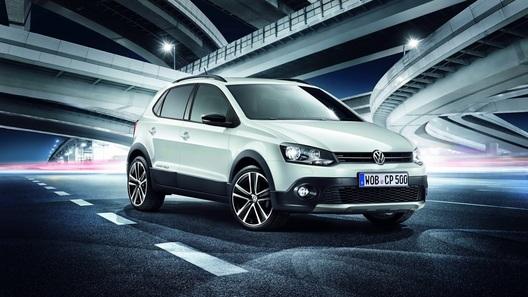Volkswagen представил спецверсию Cross Polo Urban White