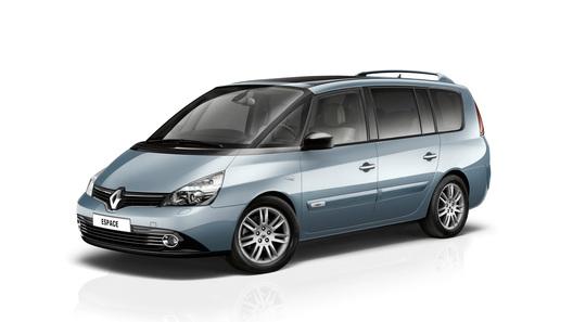 Renault Espace обновится в текущем году