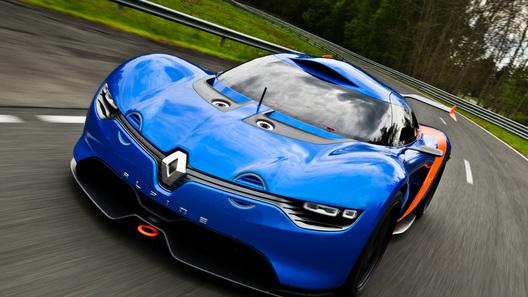 Серийный Renault Alpine получит 250 лошадиных сил