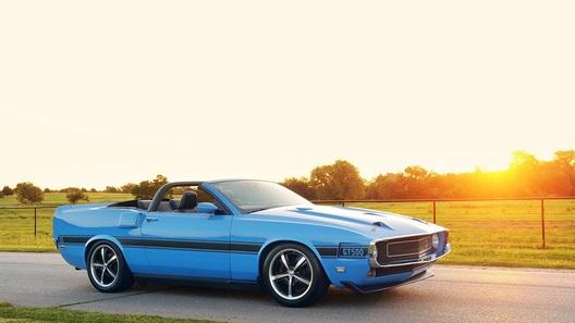 Ford Mustang получил ретро-платье родом из 1969 года