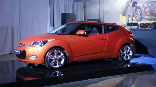 Молодежный хэтчбек Hyundai Veloster обойдется в 849 000 рублей