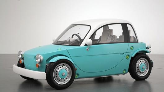Toyota показала автомобиль для детей Camatte