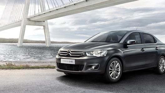 Citroen привезет в Россию два новых седана