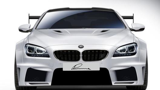BMW M6 перевоплощается в Lumma CLR 6 M