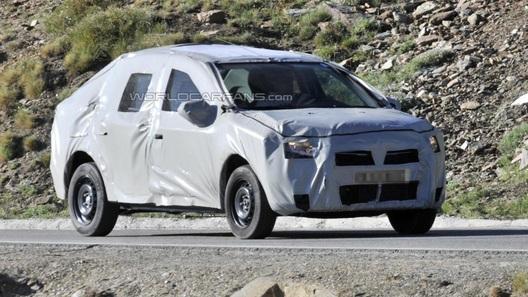 Новый Renault Logan проходит дорожные тесты