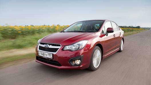 Новая Subaru Impreza будет стоить в России от 974 900 рублей