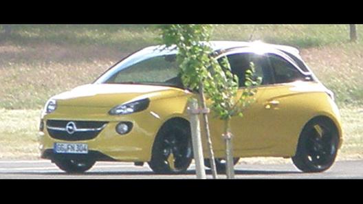 Новый компакт Opel Adam замечен без камуфляжа