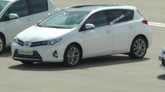 Рассекречен облик новой Toyota Auris