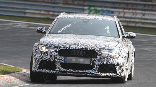 Новый Audi RS 6 будет мощнее, чем BMW M5