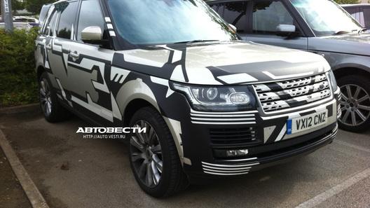 Авто.Вести.Ru засекли новый Range Rover до премьеры
