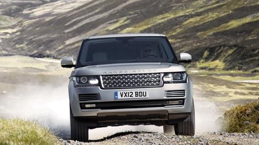 Англичане показали официальные фото нового Range Rover