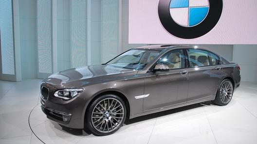 В Москве прошла мировая премьера новой BMW 7 Series