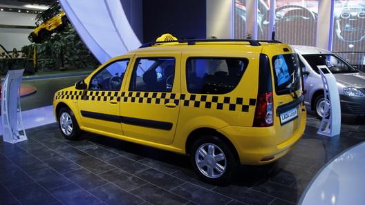 Такси Lada Largus будет стоить 600 тысяч рублей