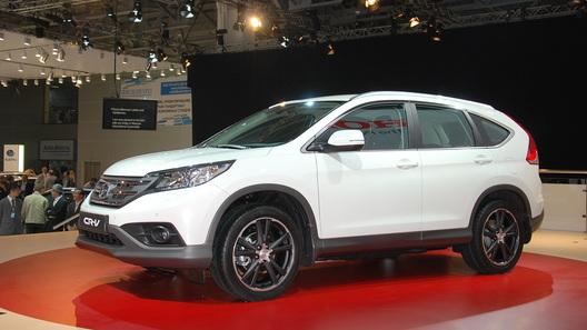 Honda назвала российские комплектации нового CR-V