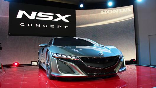 Британцы раскупили суперкар Honda до его первого появления на публике