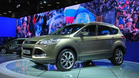 Ford привез в Москву новую Kuga
