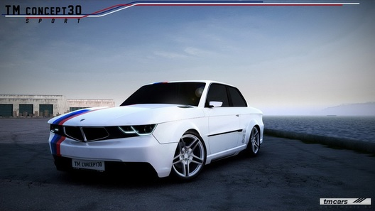Венгерские тюнеры создали BMW E30 будущего