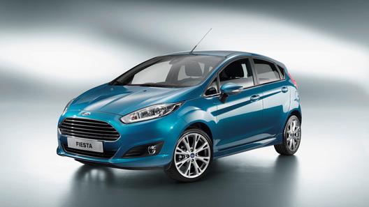 Ford показал рестайлинговую Fiesta