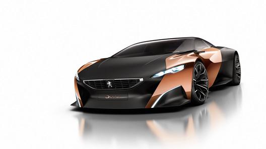 Карбоновый 600-сильный Peugeot Onyx получил салон из войлока