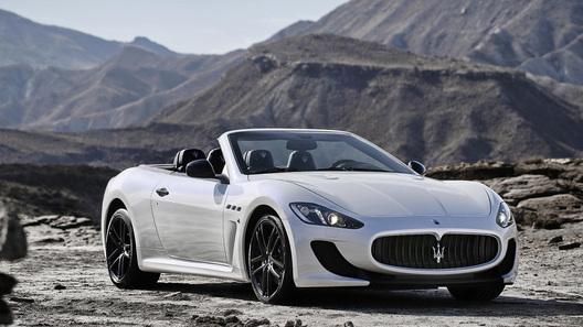 Maserati покажет в Париже флагманский кабриолет
