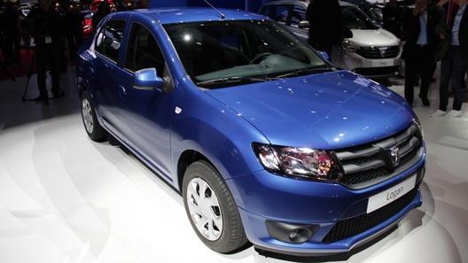 Renault привез в Париж новые Logan и Sandero