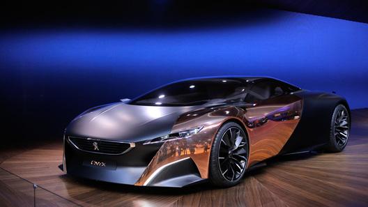 Peugeot Onyx - один из самых красивых суперкаров автосалона в Париже