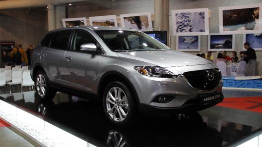 Обновленная Mazda CX-9 приехала в Россию в одной комлектации