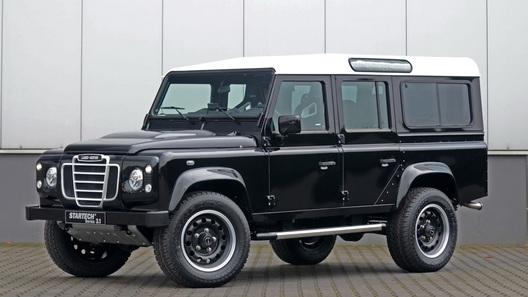Land Rover Defender переоформили в стиле