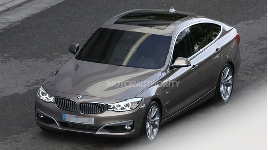 BMW 3 Series GT рассекречен фотошпионами