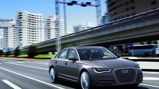 В Audi готовят гибридный концепт A6 Sportback e-tron
