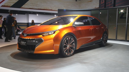 Toyota намекнула в Детройте на будущую Corolla