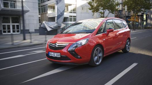 Opel Zafira Tourer получил более мощный дизель