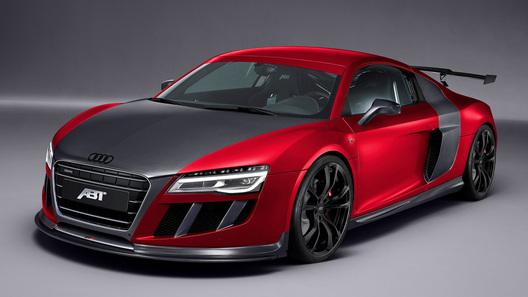 Abt привезет в Женеву Audi R8 с мотором мощностью 620 л.с.