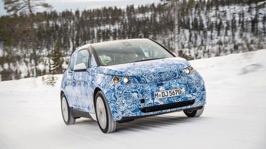 BMW взялась шпионить за собственным прототипом модели i3