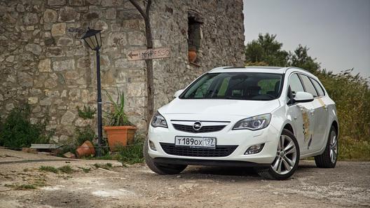 Колесим по Сицилии на универсалах Opel Astra и Opel Insignia