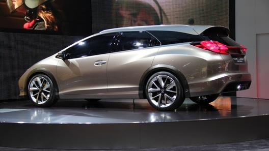 В Женеве показали концепт универсала Honda Civic